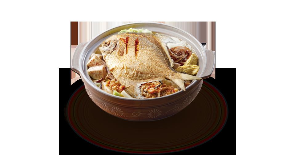 Pomfret Vermicelli Soup
