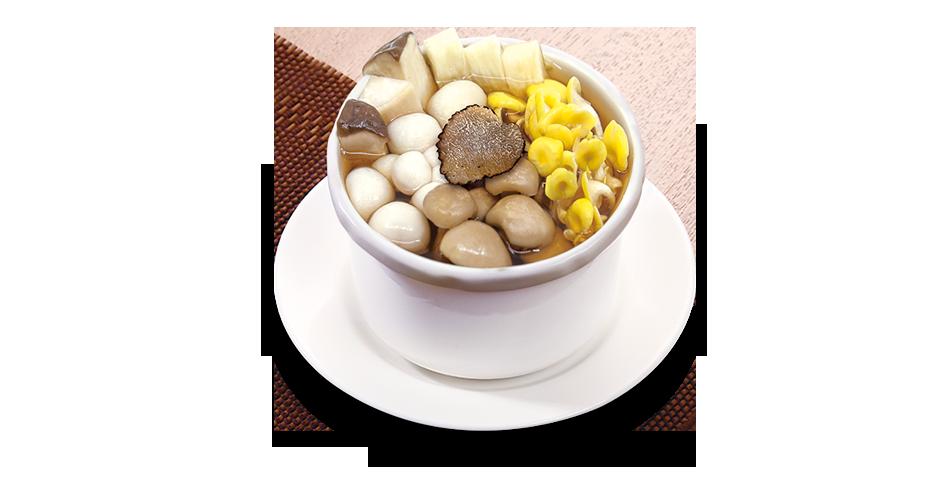 Truffle and Mushroom Soup