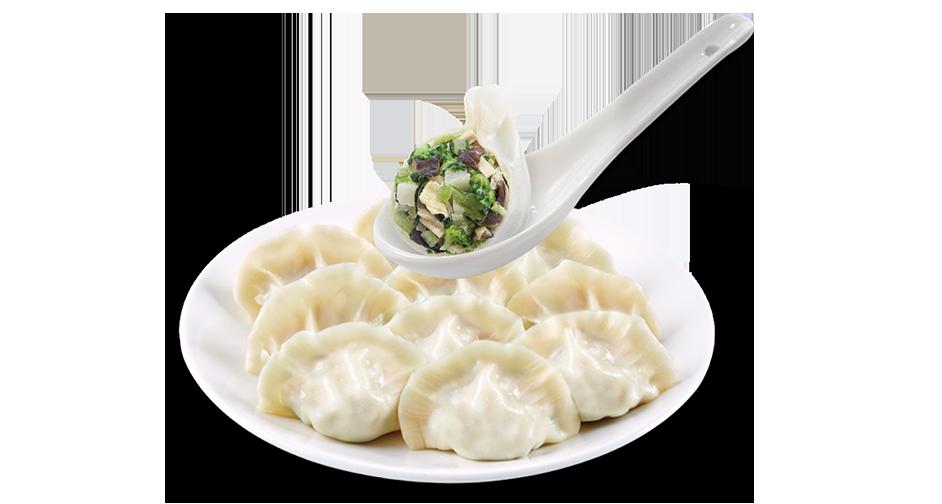 ベジタリアン(手作り)水餃子<br>(冷凍)
