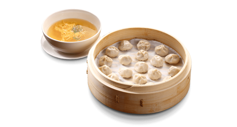 Mini Pork Xiaolongbao with Soup