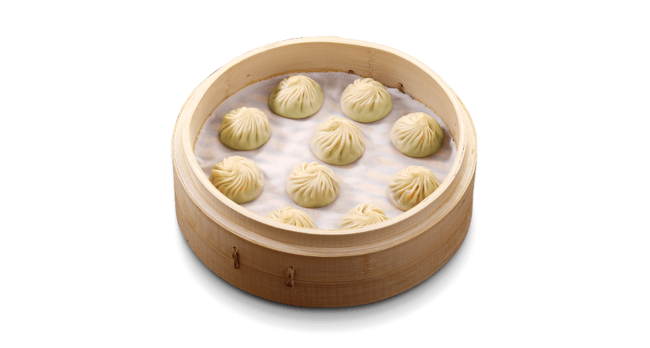 Green Squash and Shrimp Xiaolongbao