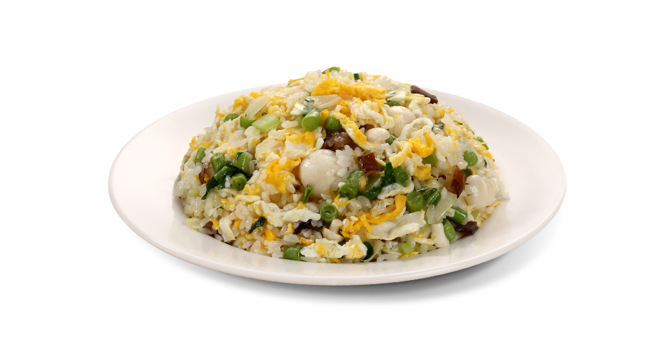 Vegetable and Mushroom Fried Rice<br>(With Egg)