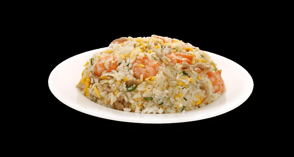Shrimp and Shredded Pork Fried Rice<br>(With Egg)