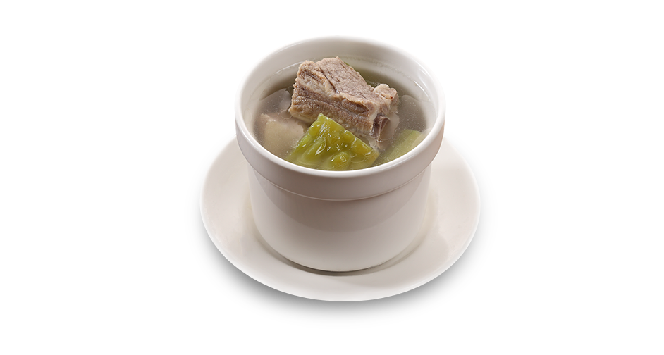 Bitter Melon Soup with Pork Spareribs