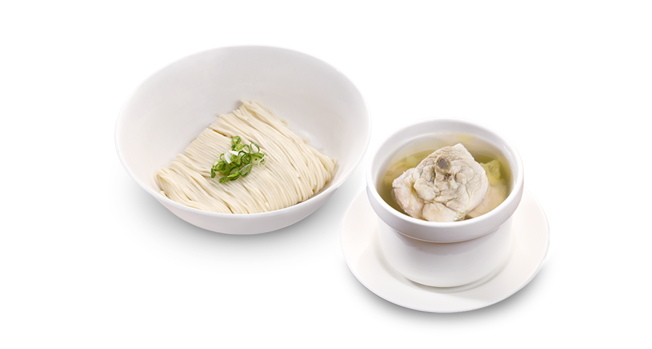 House Steamed Chicken Noodle Soup