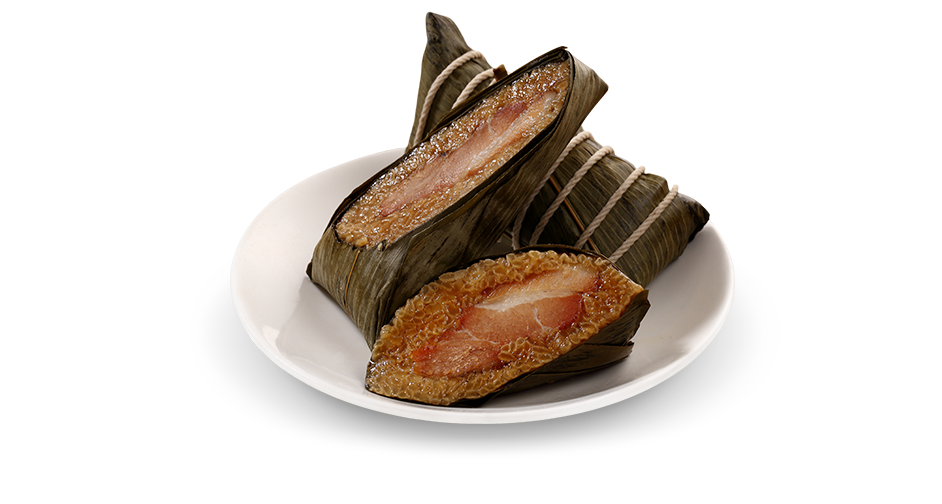 Sticky Rice Wrap with Pork