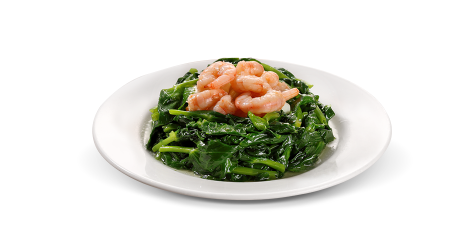 Stir-Fried Pea Shoots with Shrimp