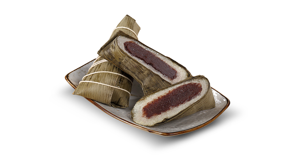 Sticky Rice Wrap with Red Bean Gift Set